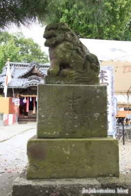 八幡神社(足立区六月)18