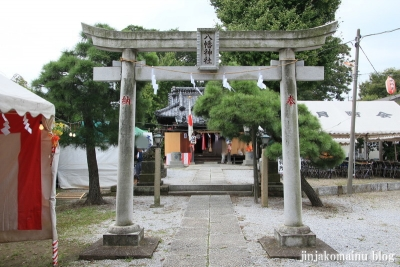 八幡神社(足立区六月)8