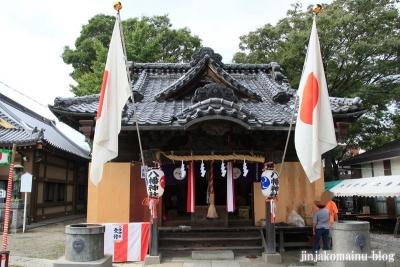 八幡神社(足立区六月)11