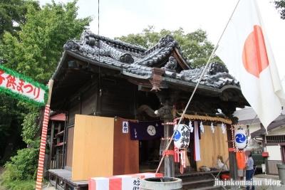 八幡神社(足立区六月)12
