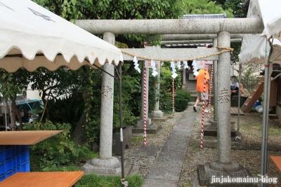 八幡神社(足立区六月)14