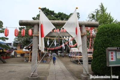 栗原氷川神社(足立区栗原)5