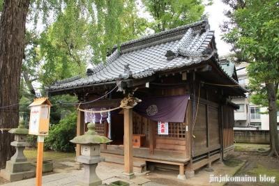 栗原氷川神社(足立区栗原)11