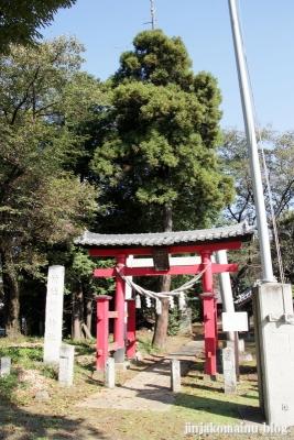 氷川諏訪神社(桶川市小針領家)1