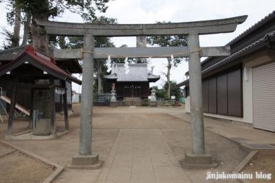 諏訪神社(上尾市畦吉)2