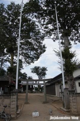 諏訪神社(上尾市畦吉)1