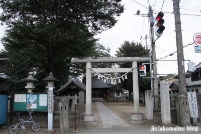 橘神社(上尾市平方)1