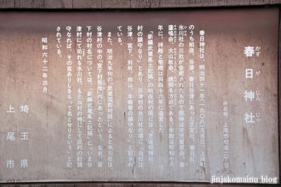 春日神社(上尾市柏座)4
