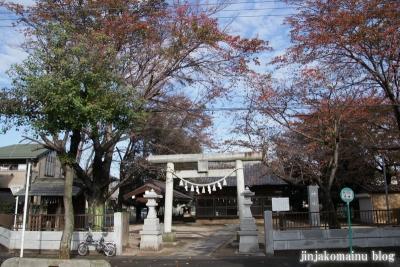 神明社(上尾市向山)1