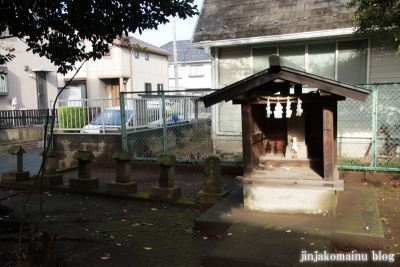 神明社(上尾市向山)13