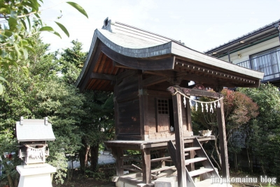稲荷神社(上尾市今泉)4