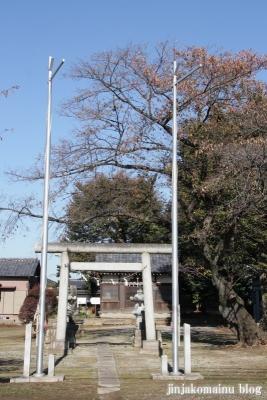 愛宕神社(上尾市堤崎)1