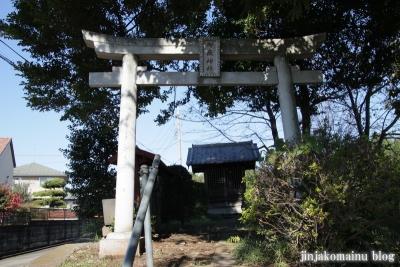 御嶽神社(上尾市戸崎)2