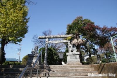 武国神社(さいたま市北区奈良町)1
