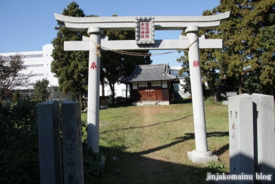 氷川神社(さいたま市北区今羽町)2