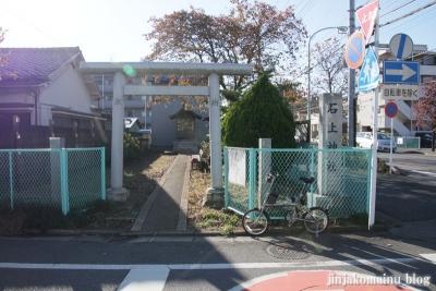 石上神社(さいたま市北区東大成町)1
