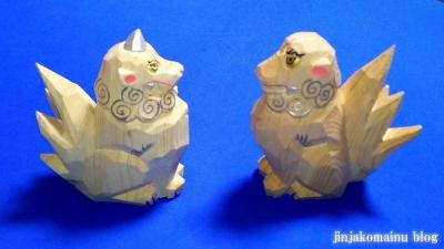 一刀彫狛犬3