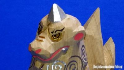 一刀彫狛犬6