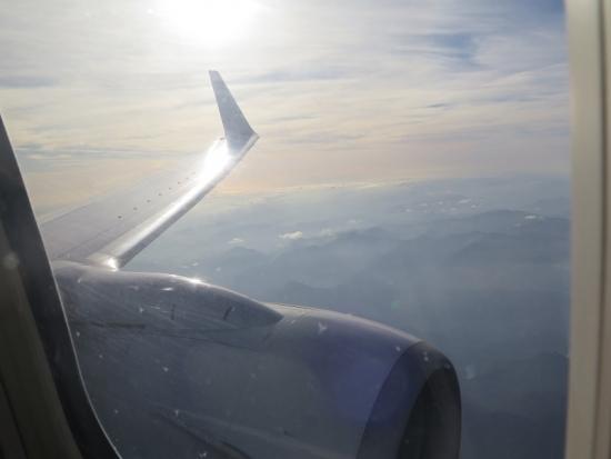 和歌山辺り上空