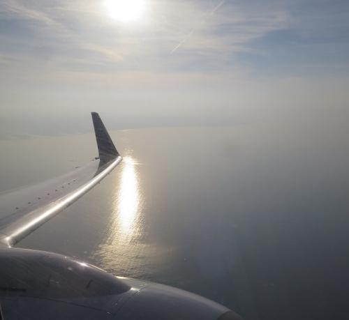 セントレア上空