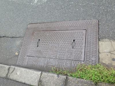 川崎 いさご通り 排気弁マンホール