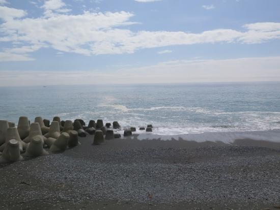 西湘SAからの海