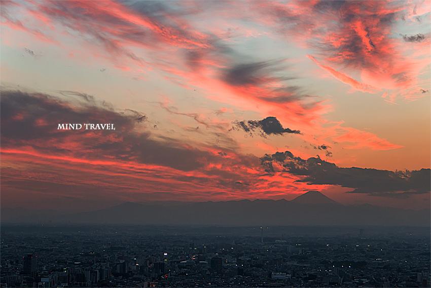 富士山 夕景2