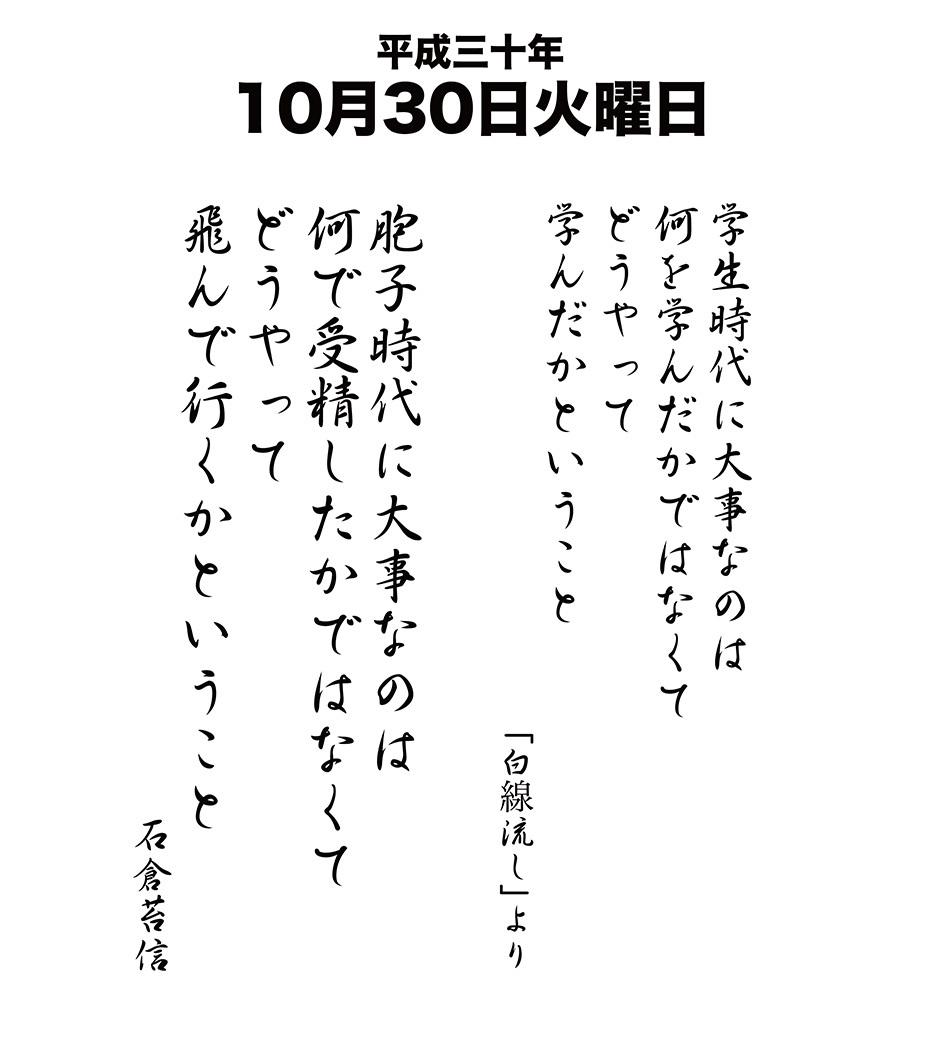 平成30年10月30日