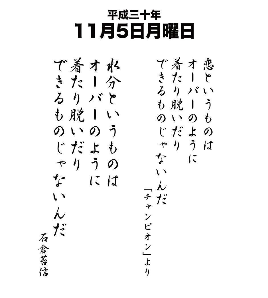 平成30年11月5日