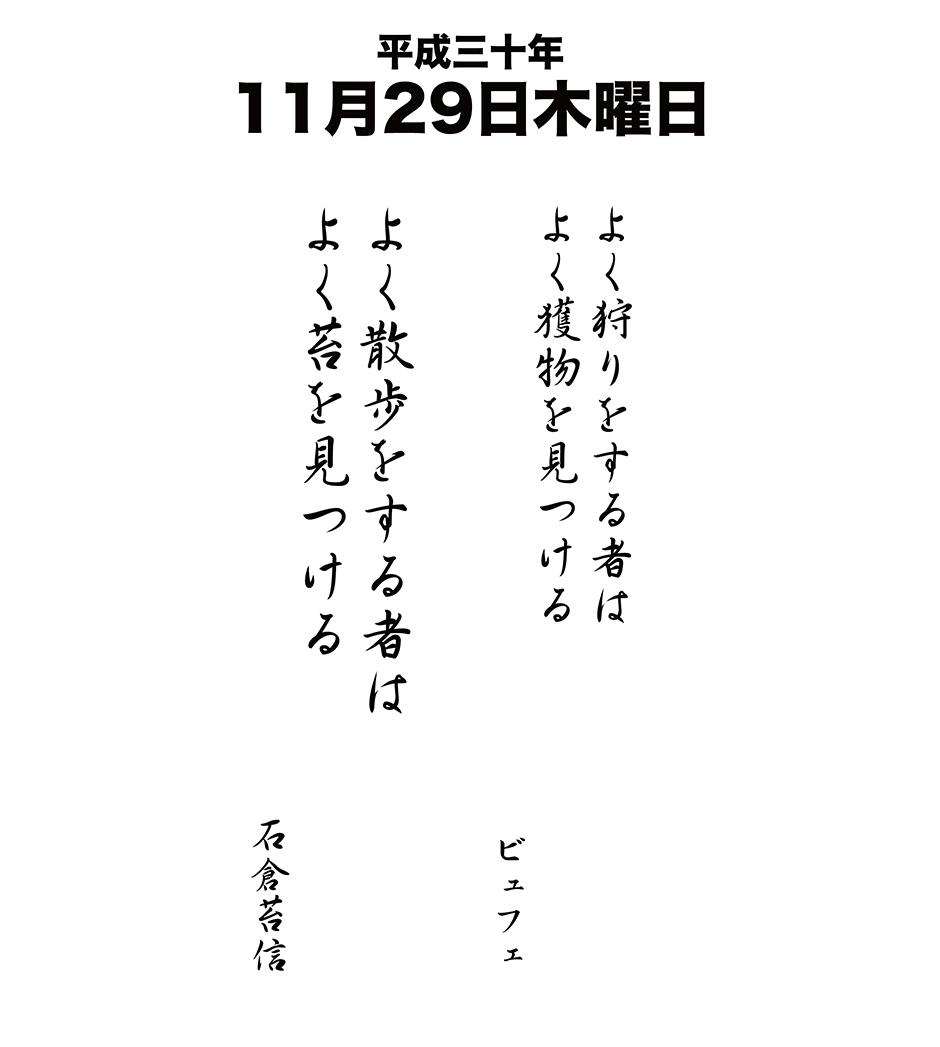 平成30年11月29日
