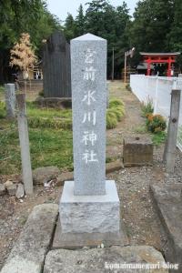 宮前氷川神社(さいたま市西区宮前町)2