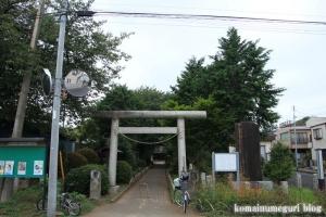 日進神社(さいたま市北区日進町)1