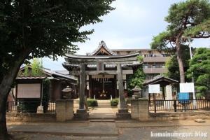 櫛引氷川神社(さいたま市大宮区櫛引町)1