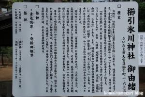 櫛引氷川神社(さいたま市大宮区櫛引町)4