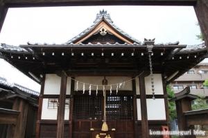 櫛引氷川神社(さいたま市大宮区櫛引町)9
