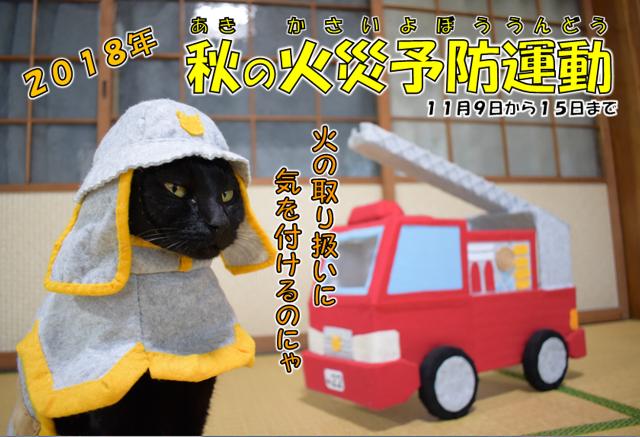 2018年秋の火災予防運動3 - コピー