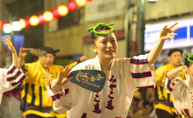 2016 阿波踊り 琉球國際太鼓 都連