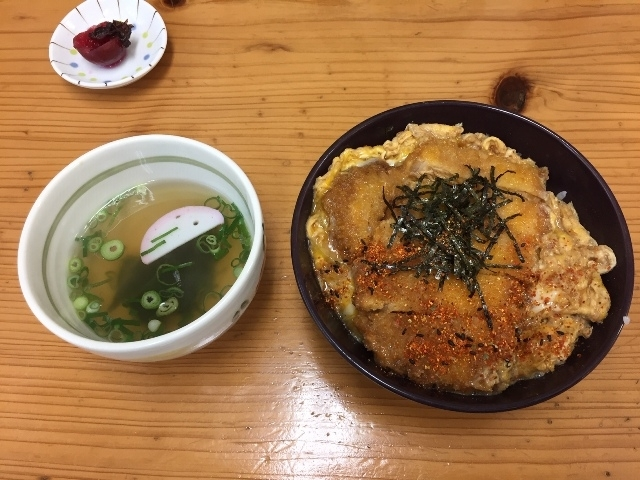 麺之介カツ丼