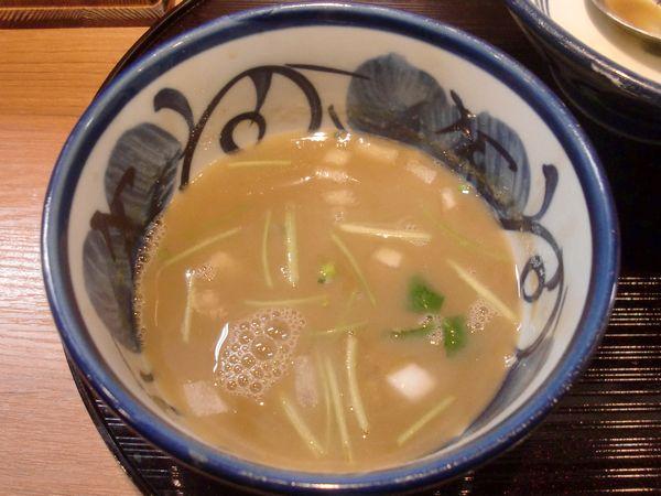 よし田@木場・20170126・スープ割