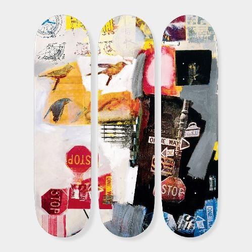 ロバート・ラウシェンバーグ:スケートボード Tryptch Overdrive Robert Rauschenberg(ロバート・ラウシェンバーグ) The Skateroom(ザ・スケートルーム)