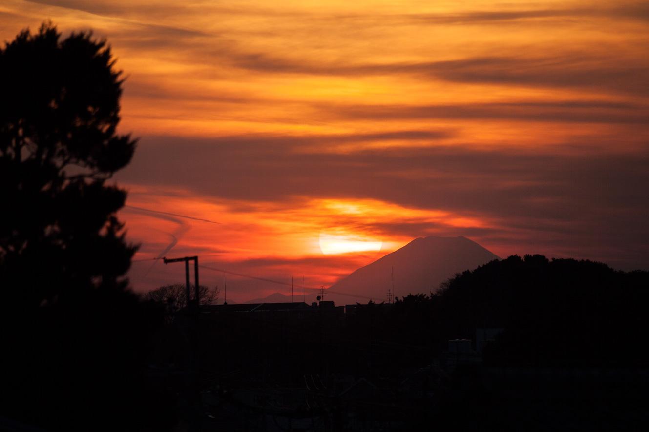 170128富士山とスカイツリー-1-2