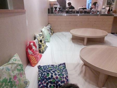 名古屋カフェにて夕飯