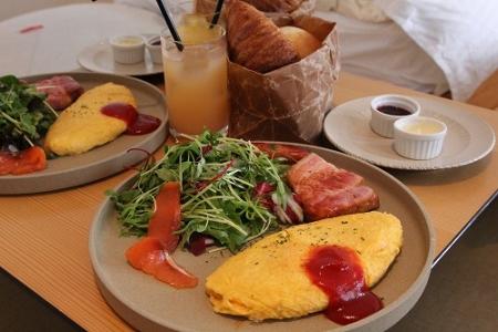HOTEL CLASKAの朝食