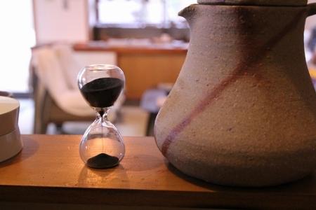 アンジェで購入した砂時計