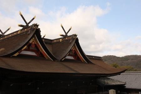 お正月の吉備津神社