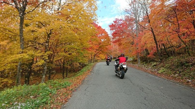 穂高バイク1