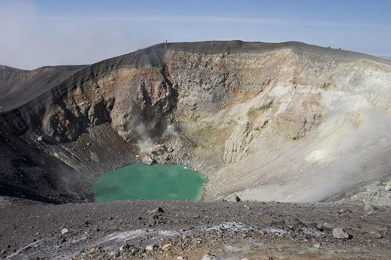 【ロシア】エベコ火山が噴火!噴煙は上空1500メートルの高さに