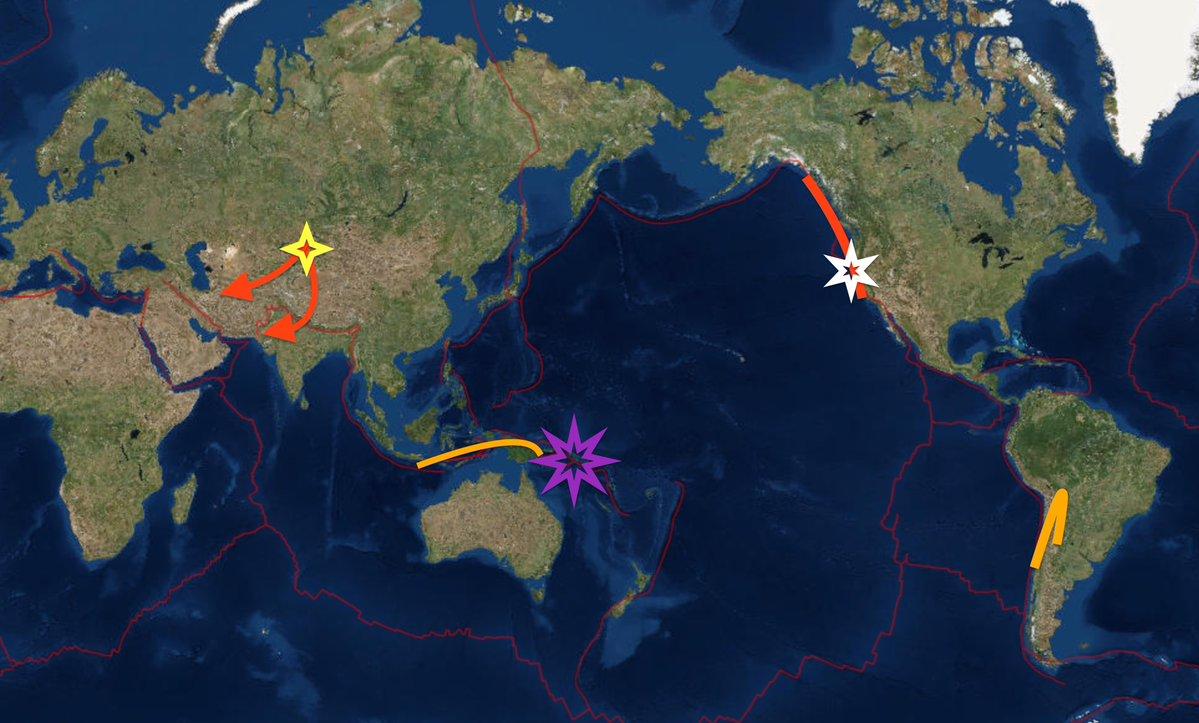 中国の新疆ウイグル自治区で「M5.9」の地震発生