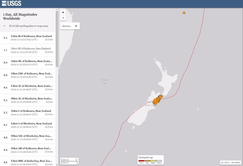 【NZ地震】クライストチャーチ住人「これまでに経験したことがない揺れと長さで、何かにつかまってないといけない程だった」