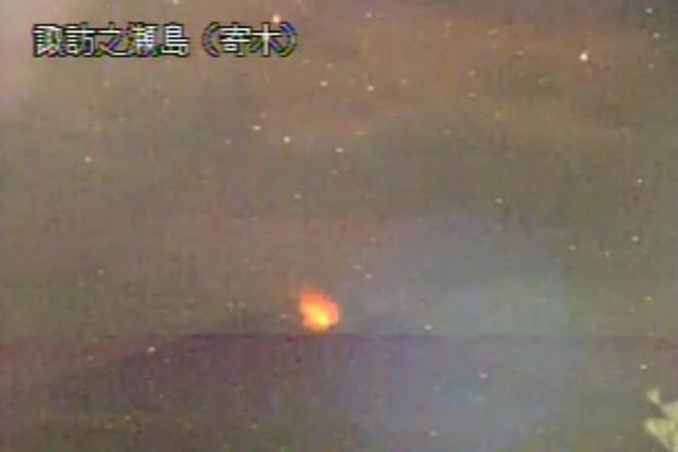 【トカラ列島】鹿児島・諏訪之瀬島で断続的な爆発的噴火が起こっており、火山活動は活発な模様